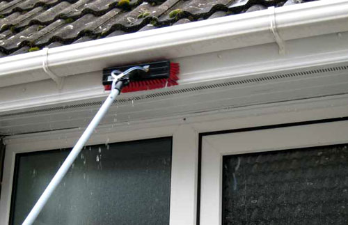 fascia cleaning Woodford